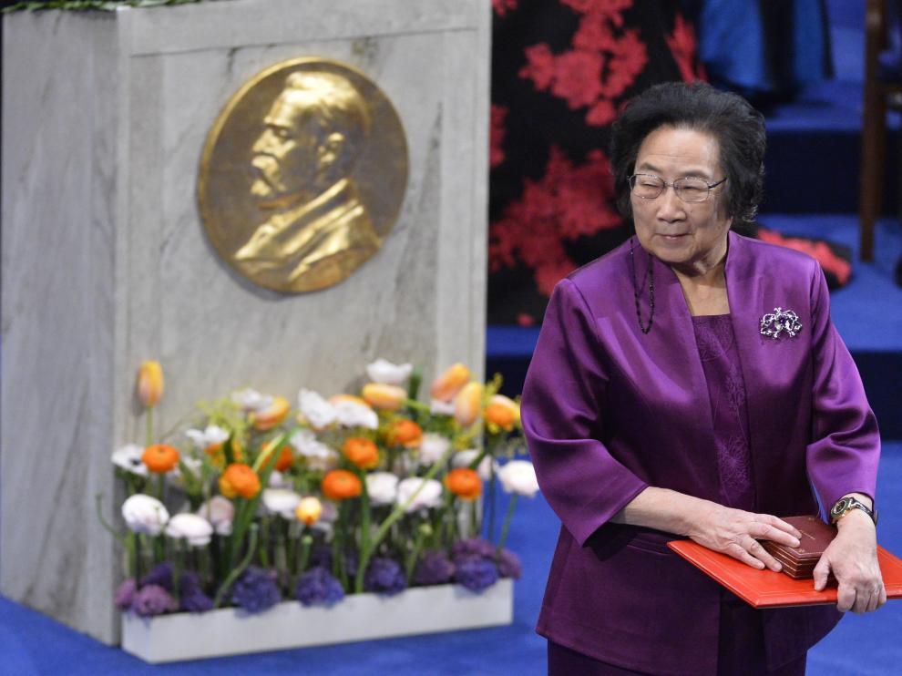 La cooganadora del Premio Nobel de Medicina 2015, la china Youyou Tu