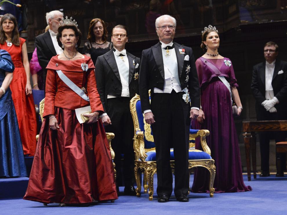 Imagen de archivo de la gala de entrega de los Premios Nobel.