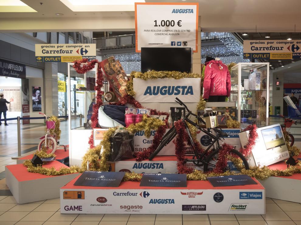 El ganador del juego 'En busca del tesoro', que organiza el C.C. Augusta, se llevará un gran aguinaldo valorado en 5.000 euros.
