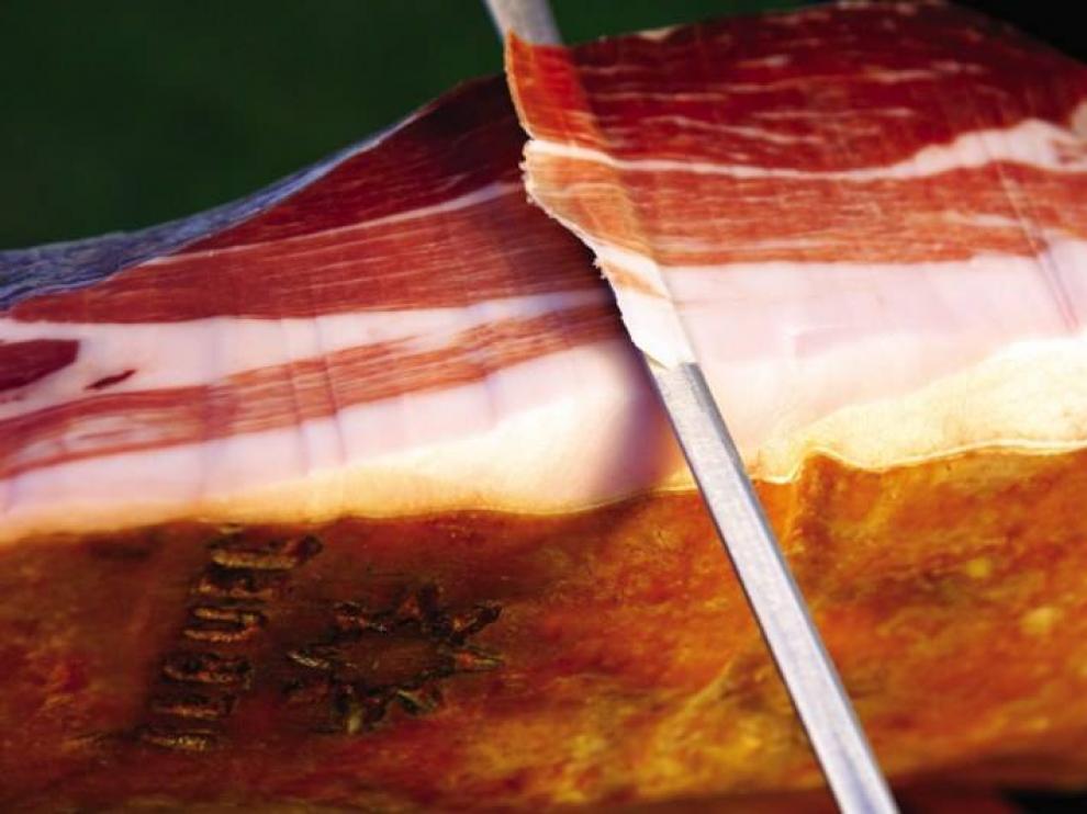 Jamón de Teruel.