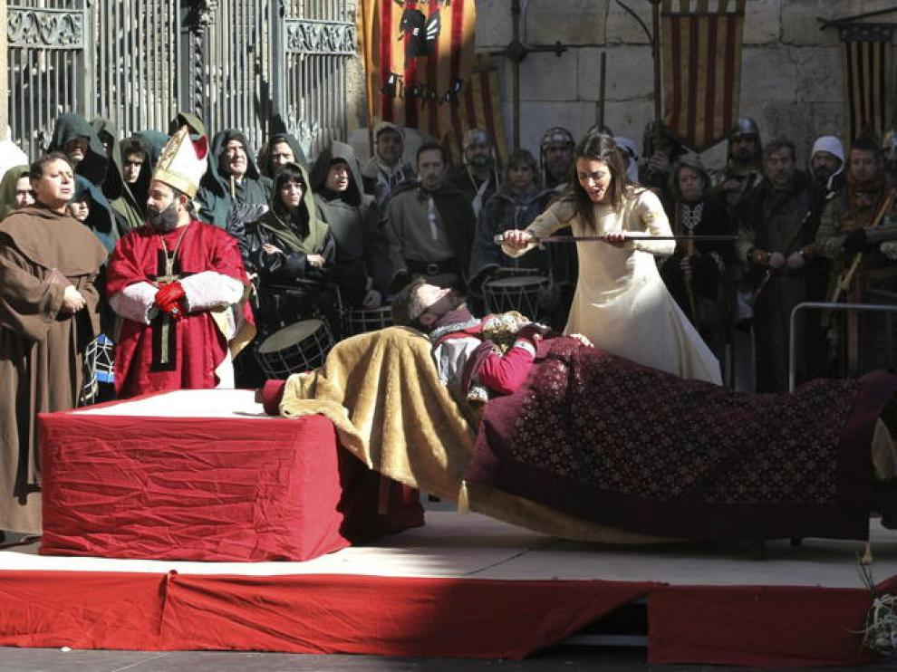 Las Bodas de Isabel en Teruel reciben a miles de visitantes