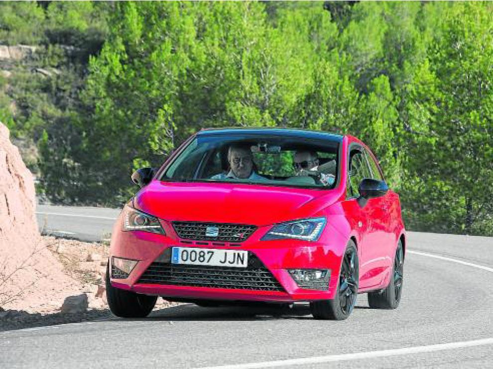 El nuevo Seat Ibiza Cupra es un coche de calle con unas prestaciones casi de carreras.