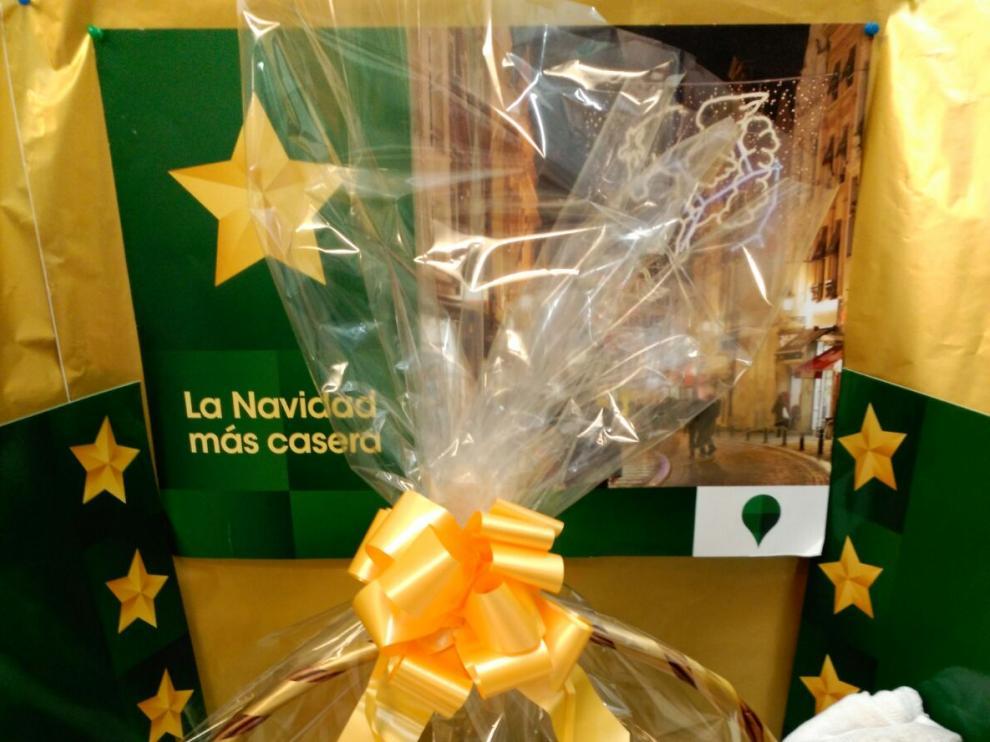 Sorteo de cinco cestas de Navidad valoradas en 100 euros