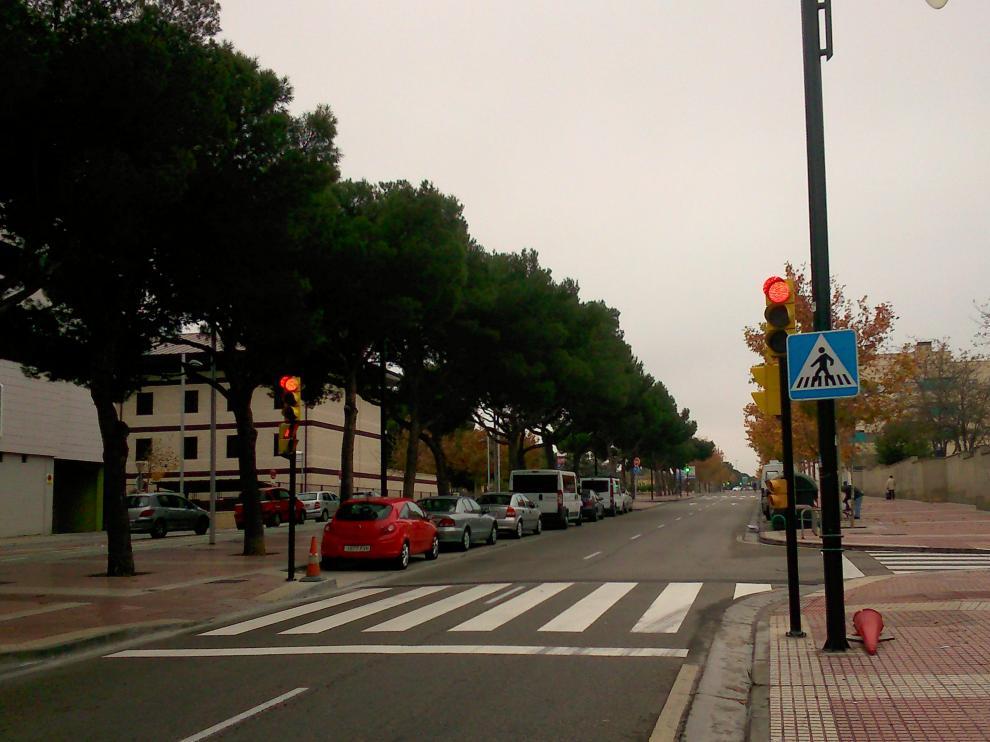 Punto de Fray Julián Garcés en el que se han instalado los semáforos.