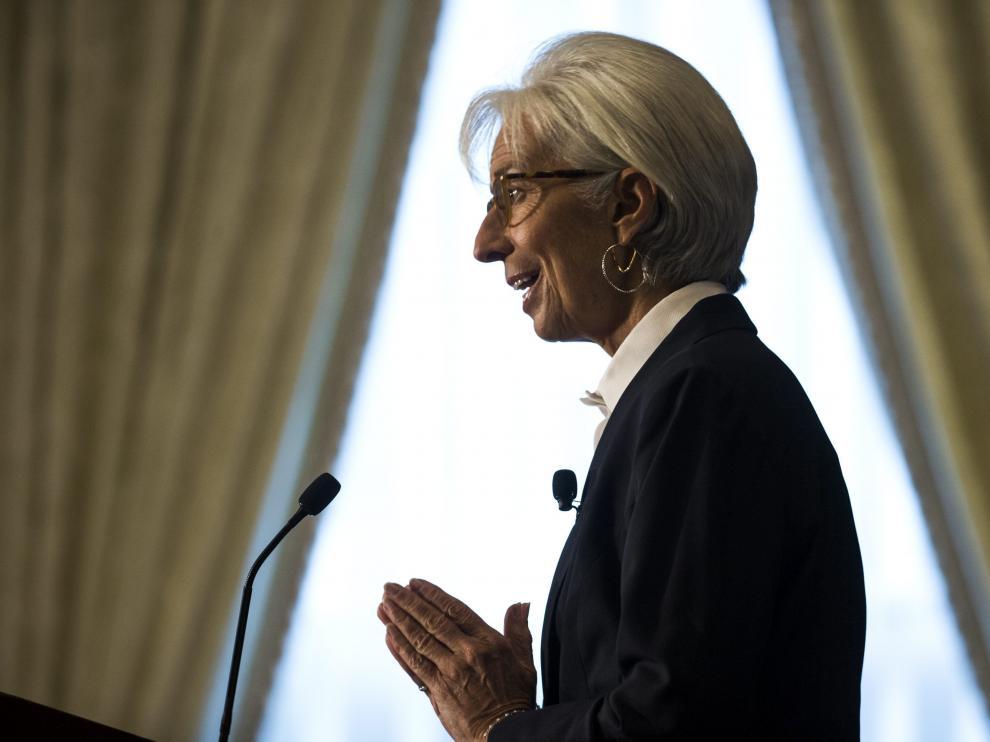 Christine Lagarde en una foto de archivo.