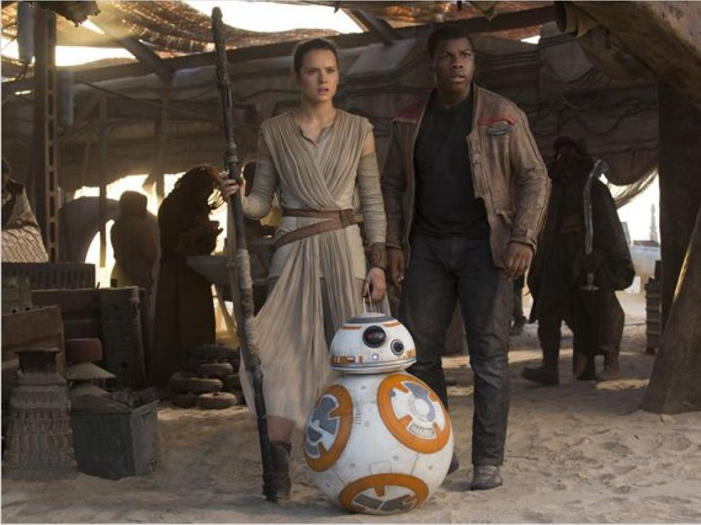 Fotograma de 'Star Wars: El despertar de la fuerza'.