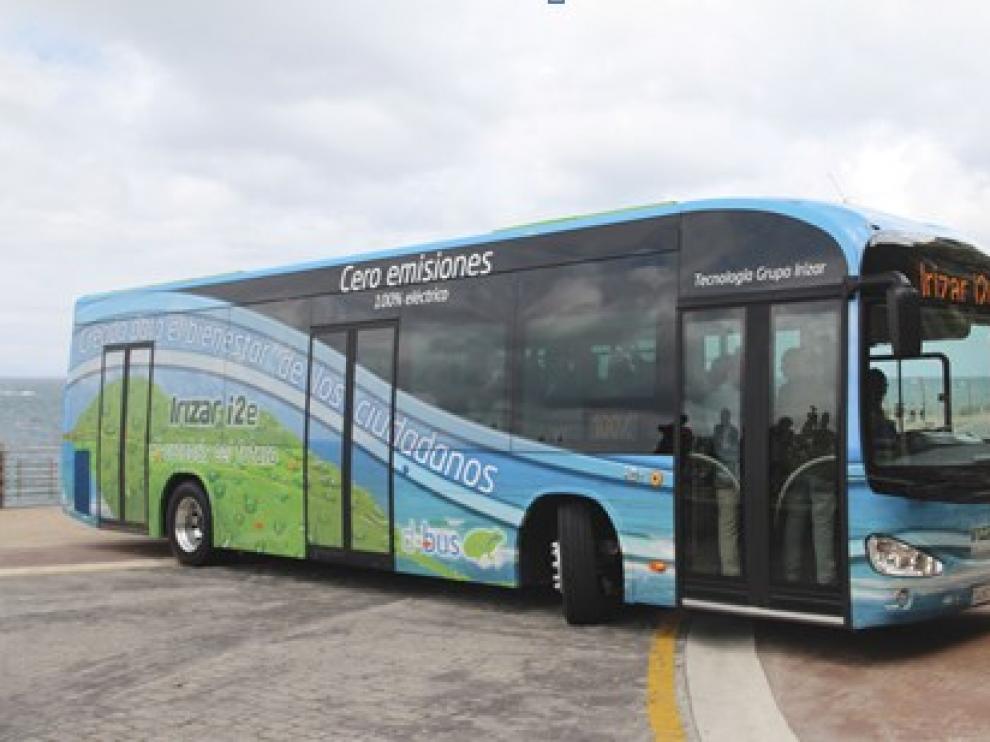 El autobús 100% eléctrico.