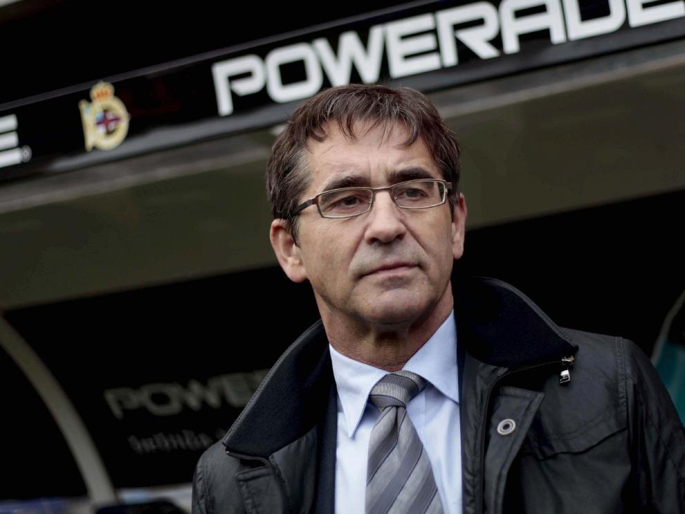 Fernando Vázquez, durante su etapa en el Deportivo de La Coruña.