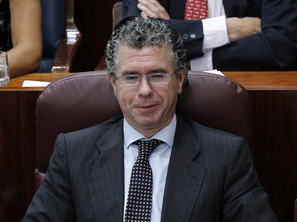 El exvicepresidente de la Comunidad de Madrid, Francisco Granados