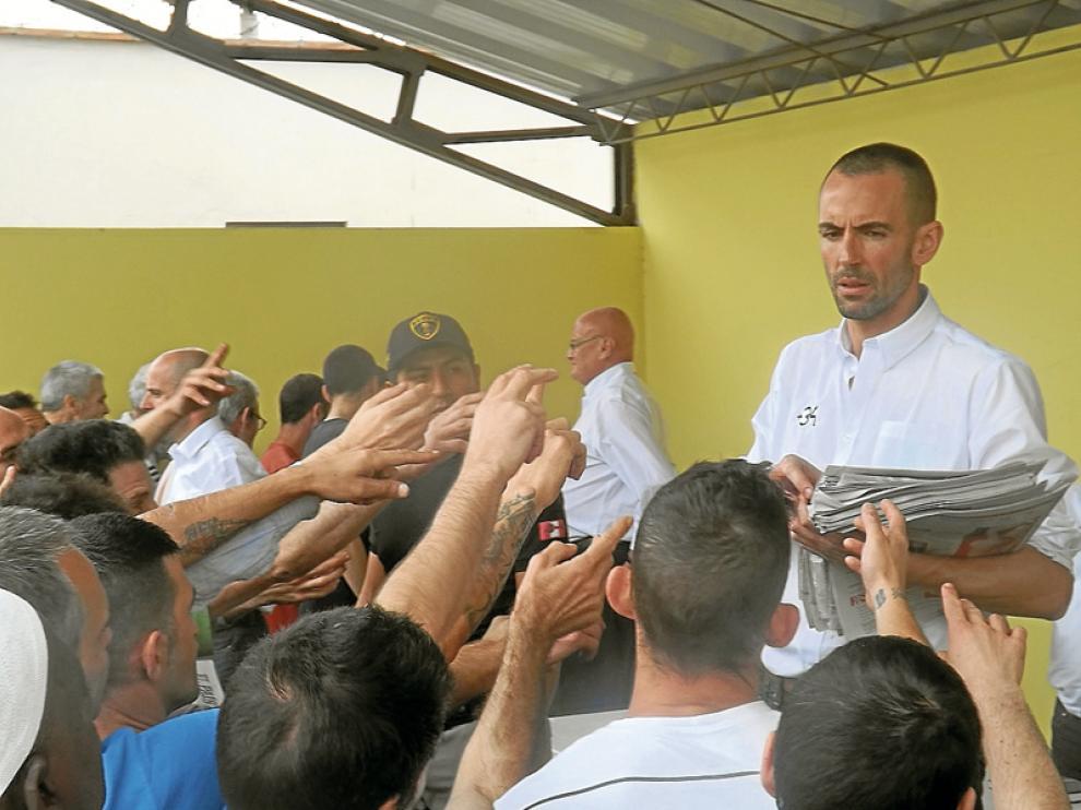 La Fundación +34 visita la cárcel de Piedras Gordas donde residen 145 españoles y la tuberculosis «está a la orden del día» ============