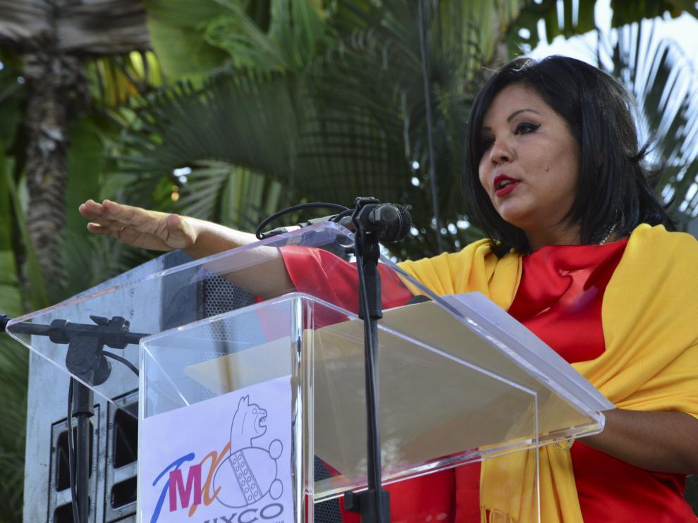 Gisela Mota, la alcaldesa asesinada en México.
