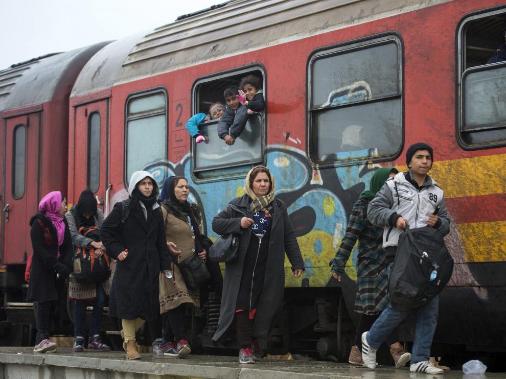 Refugiados, imagen de archivo.