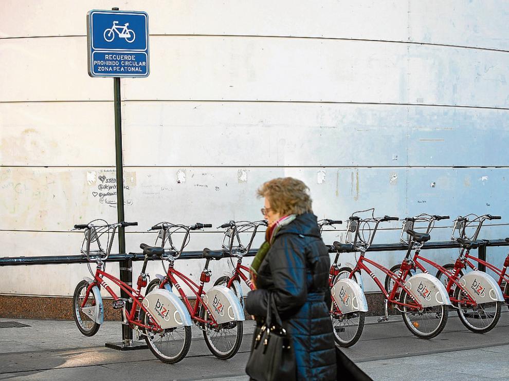 Las estaciones 'bizi' son una demanda de barrios como Torrero, San José o Casablanca.