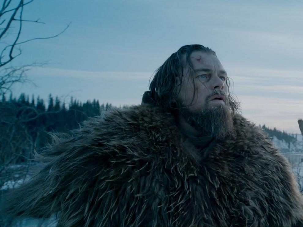 Di Caprio, en un fotograma de The Revenant