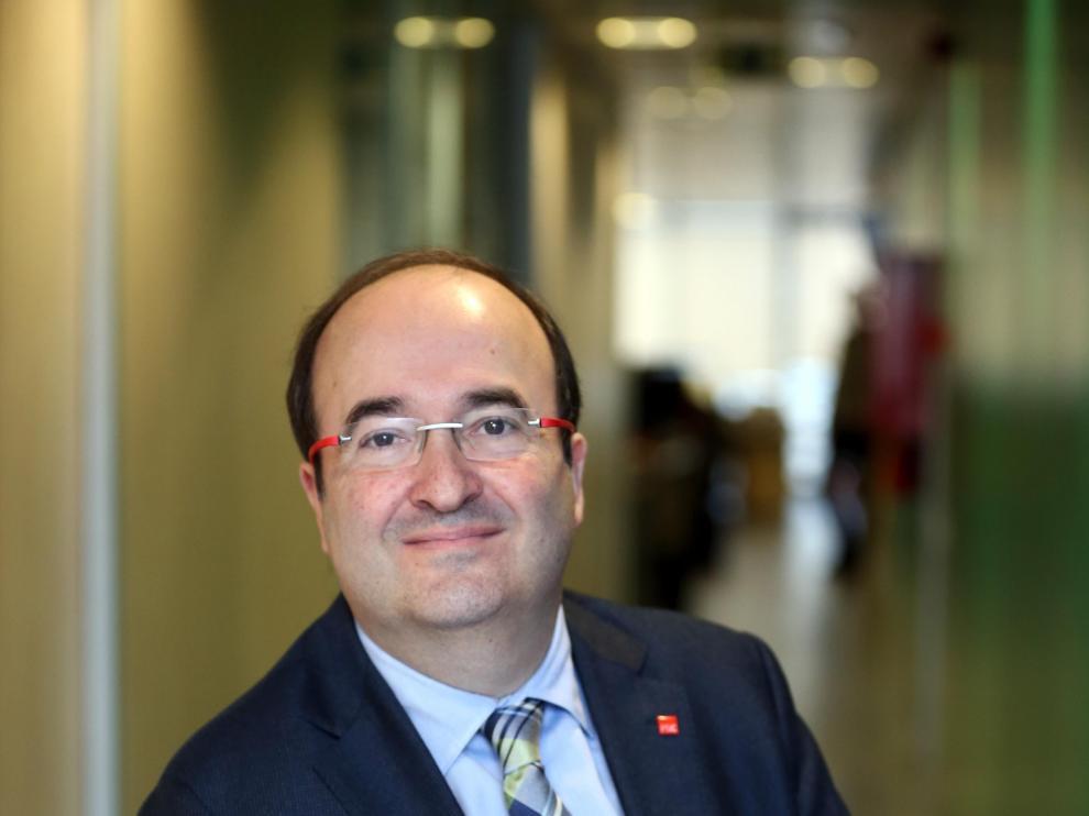 El líder del PSC, Miquel Iceta, en una foto de archivo.