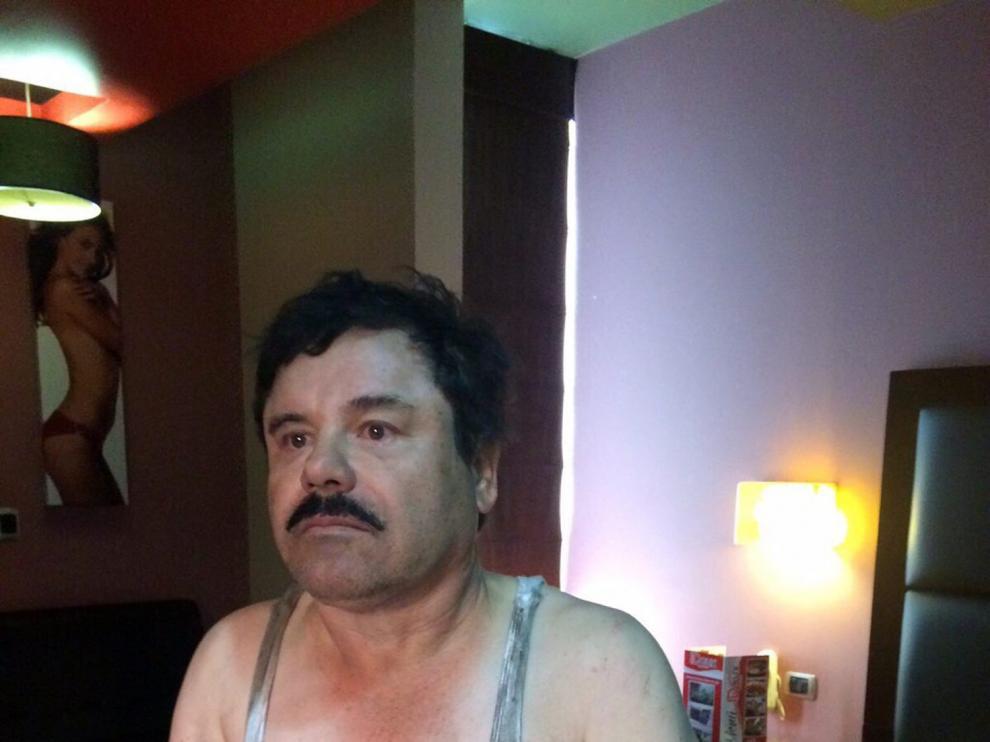 Una fotografía del Chapo Guzmán.