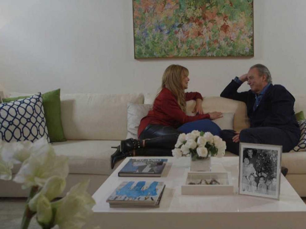 Ana Obregón recibe a Bertín Osborne en 'En la tuya o en la mía'