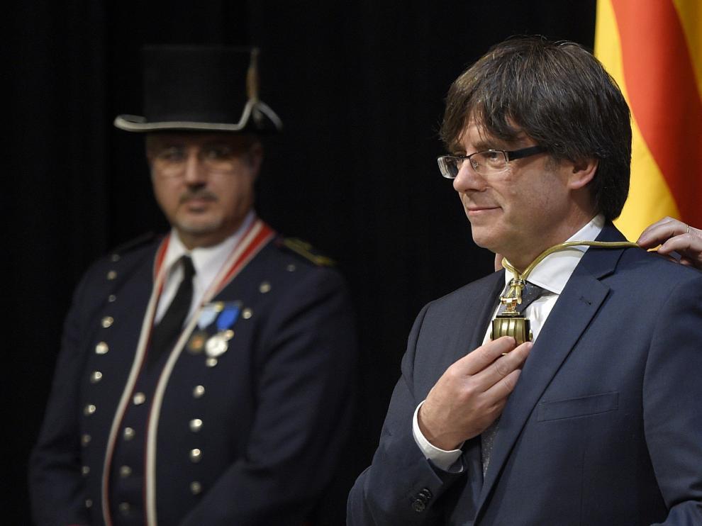 Carles Puigemont, presidente de la Generalitat, en imagen de archivo