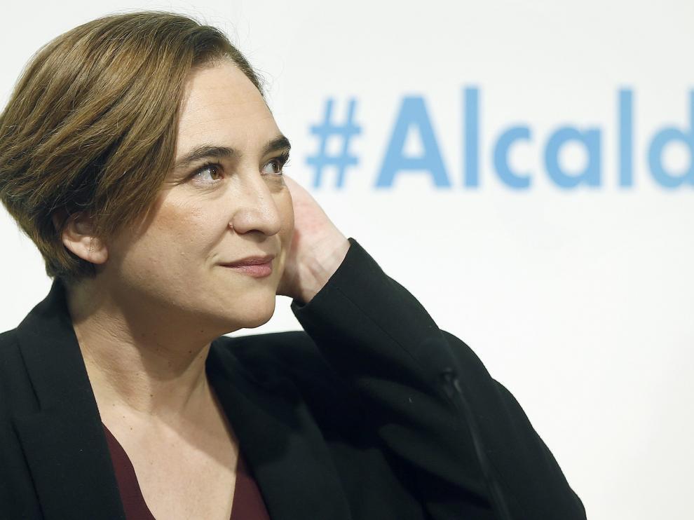 Ada Colau hace balance de su actuación.