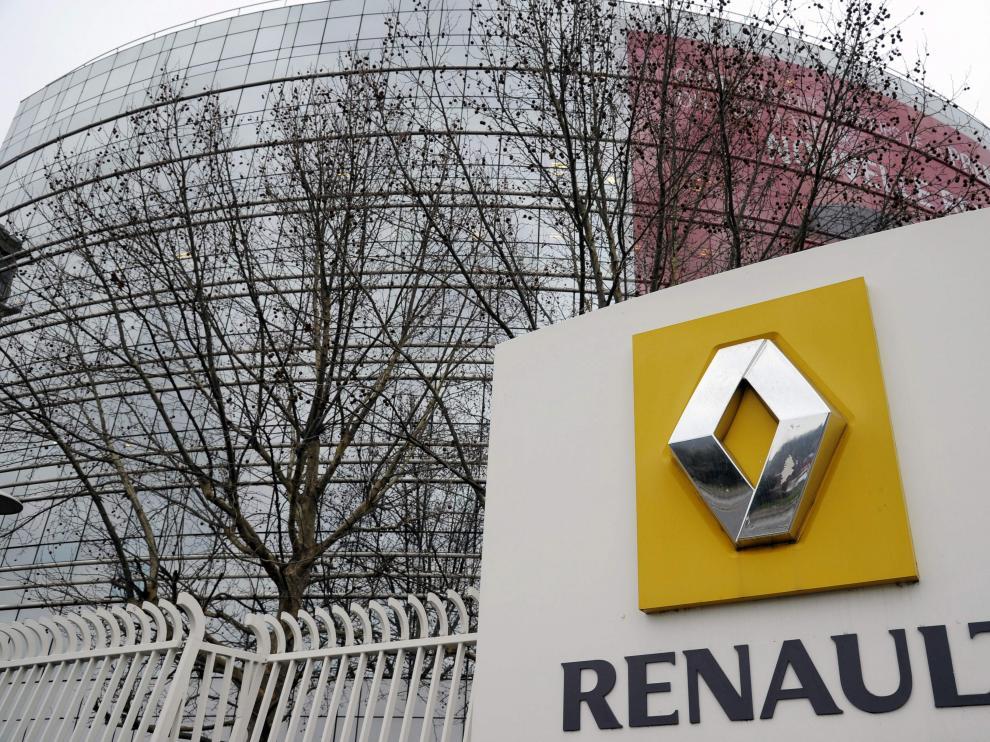 Foto de archivo de una sede de Renault en Francia.