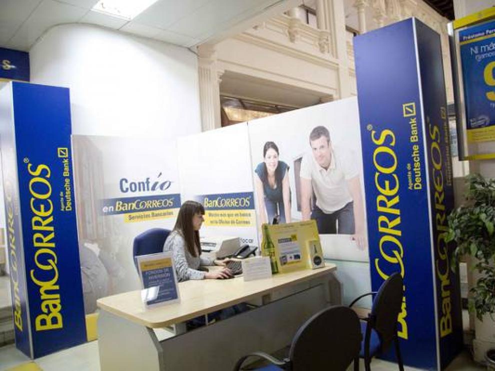 Sede de Correos en Zaragoza