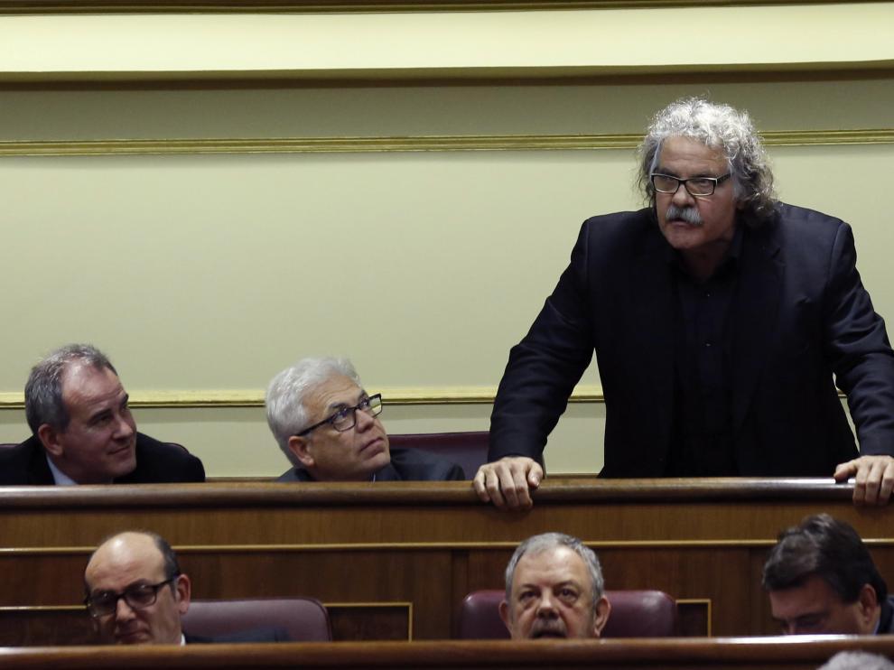 El diputado de Esquerra Republicana de Catalunya (ERC) Joan Tardá