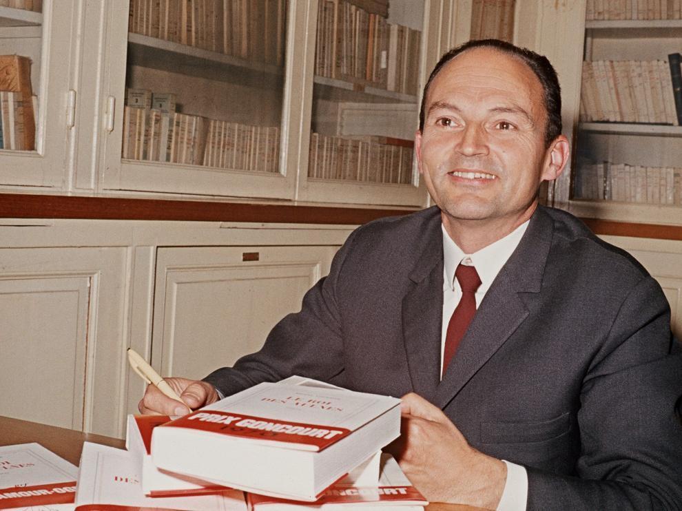 Michel Tournier en una imagen de archivo.
