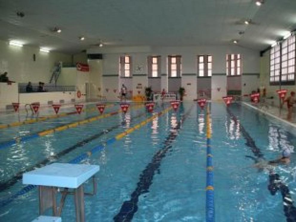Imagen de archivo de la piscina climatizada de Teruel.