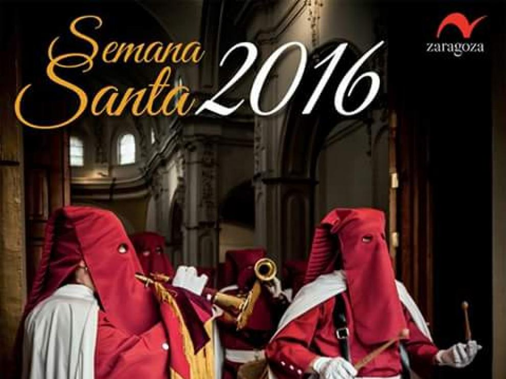 Cartel de la Semana Santa de Zaragoza.