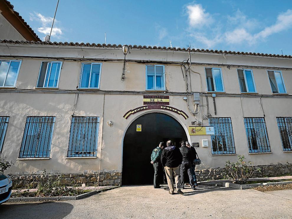El acuartelamiento, en estado ruinoso, fue desalojado hace dos años.