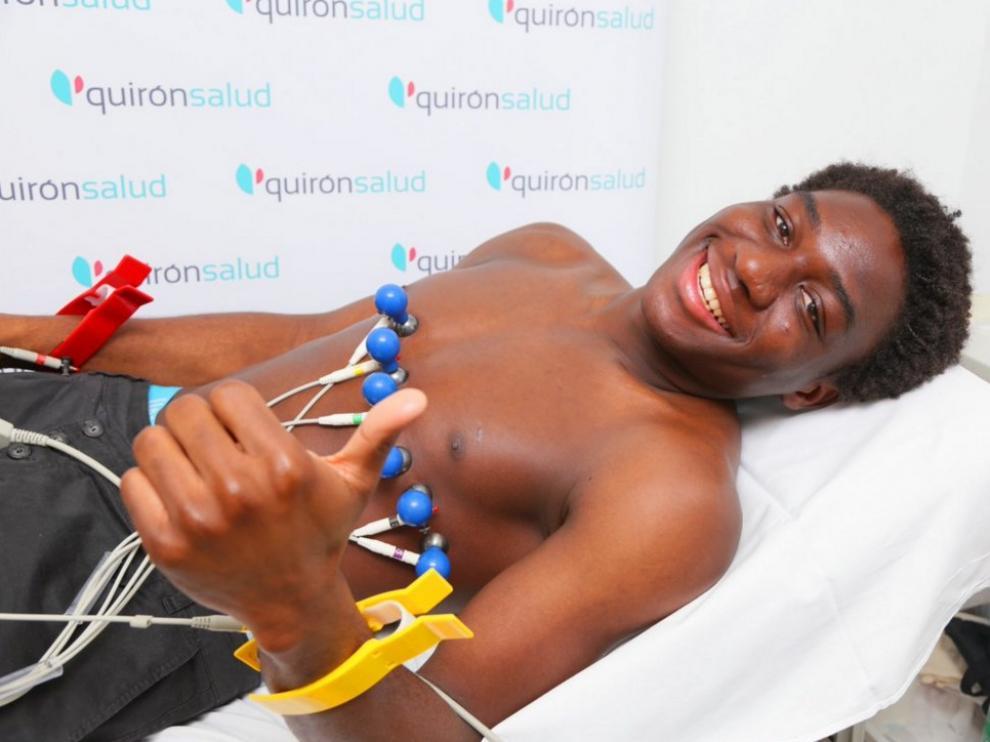 Dongou ha pasado el reconocimiento médico este viernes