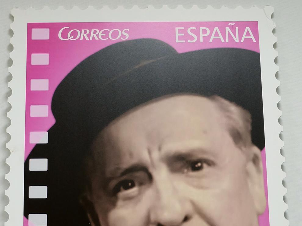 Imagen del sello dedicado a Paco Martínez Soria