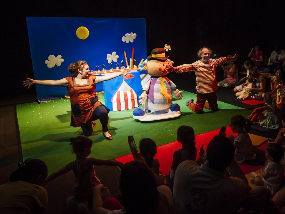 'Pompón' se representa en el Teatro Arbolé.