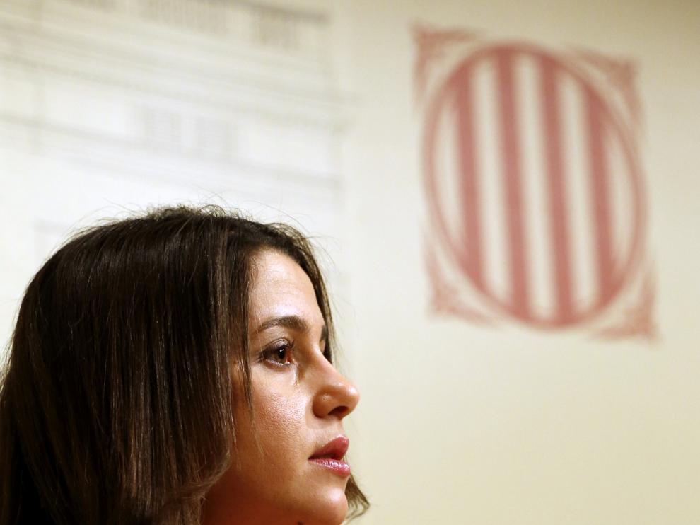 Arrimadas, diputada de Ciudadanos en el Parlamento catalán