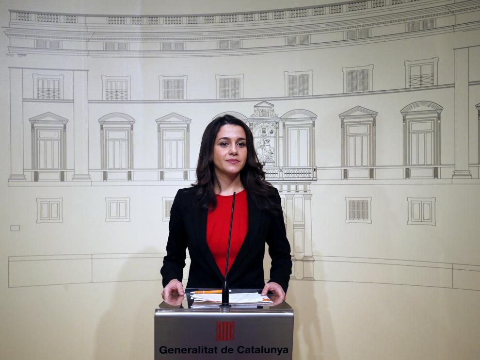 La líder de C's en Cataluña, Inés Arrimadas.