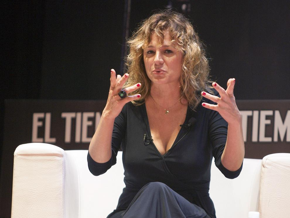 La actriz española Emma Suárez