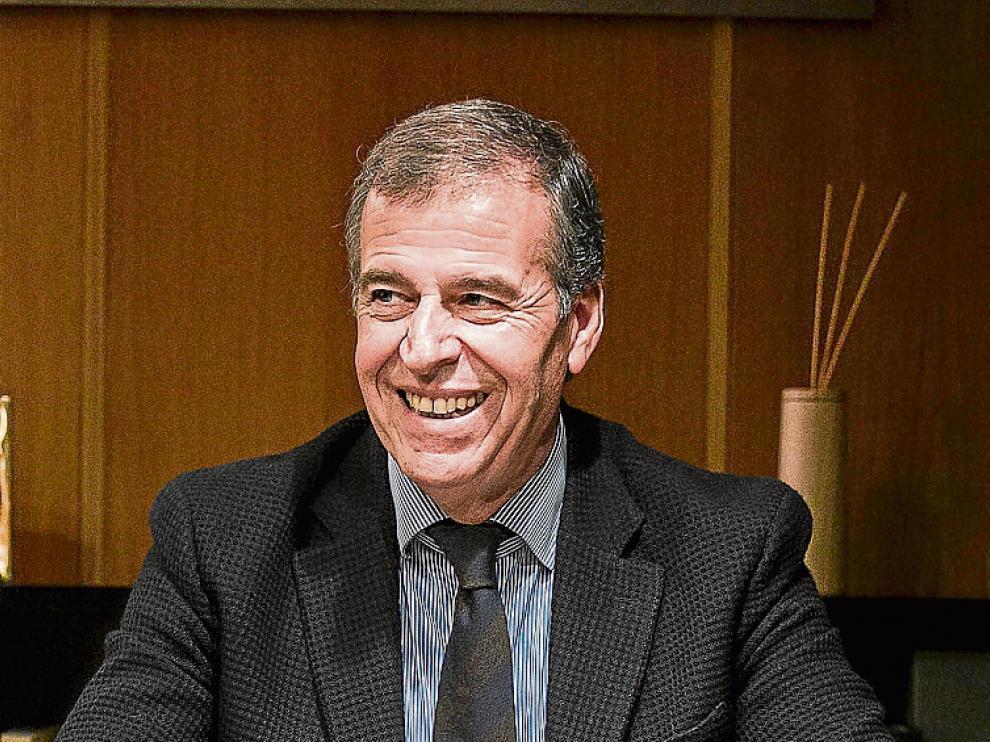 Antonio Cosculluela, presidente de las Cortes de Aragón.