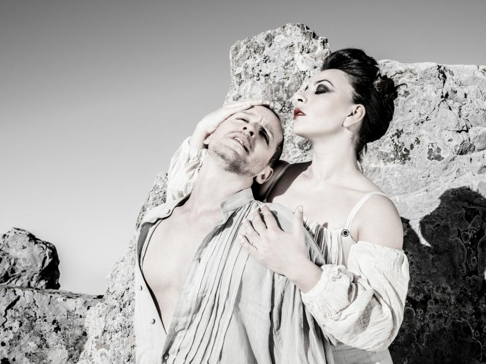 'Las Moiras' de Entredos Ballet Español en el Teatro de las Esquinas.