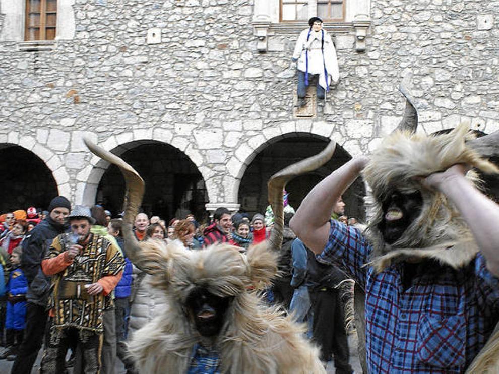 Trangas en el carnaval de Bielsa