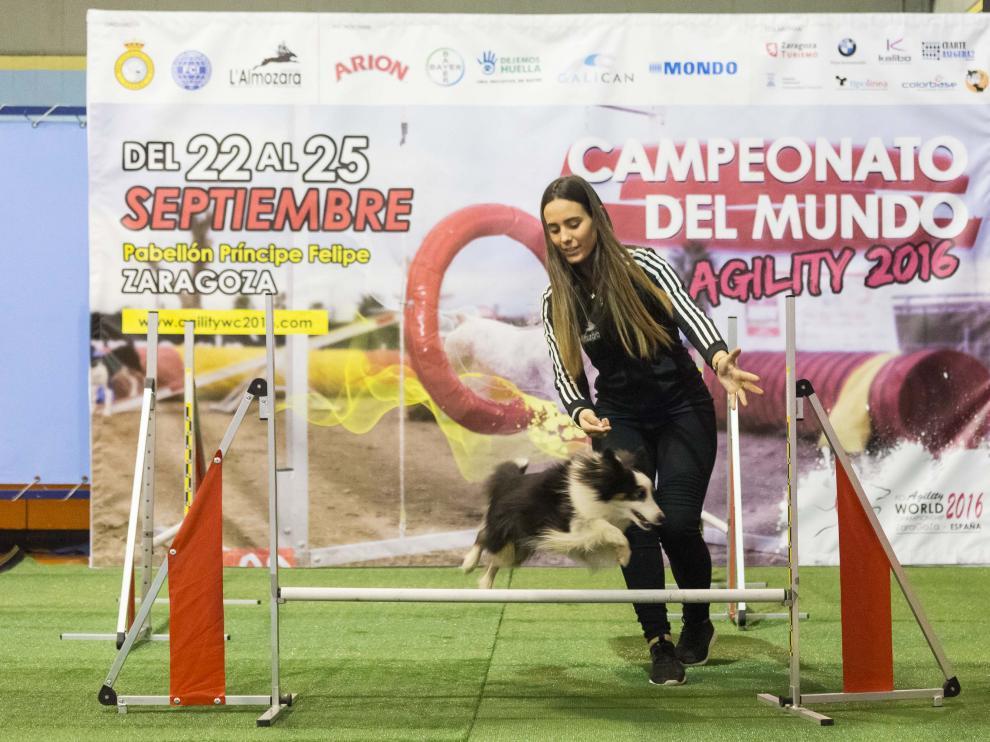 Carmen Briceño, campeona de España en talla pequeña y subcampeona del mundo de 2014.