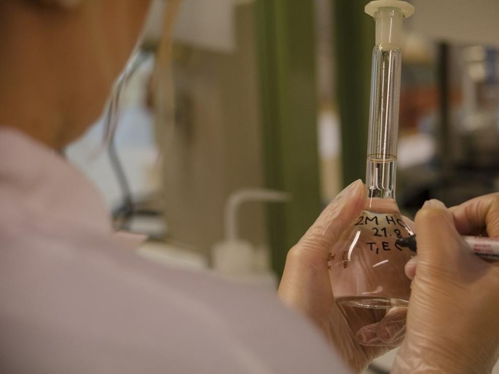 Pruebas realizadas en un laboratorio.