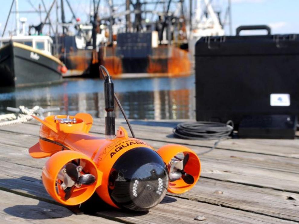 Un dron submarino.