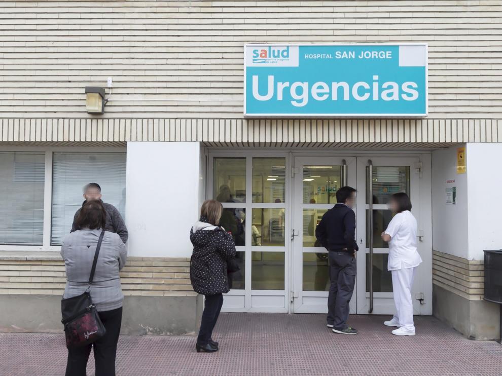 El servicio de Urgencias del hospital San Jorge.
