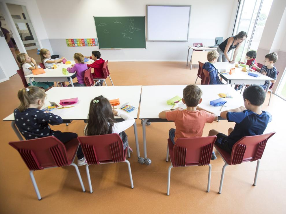 Colegio Ánfora, que ha empezado a funcionar este curso.