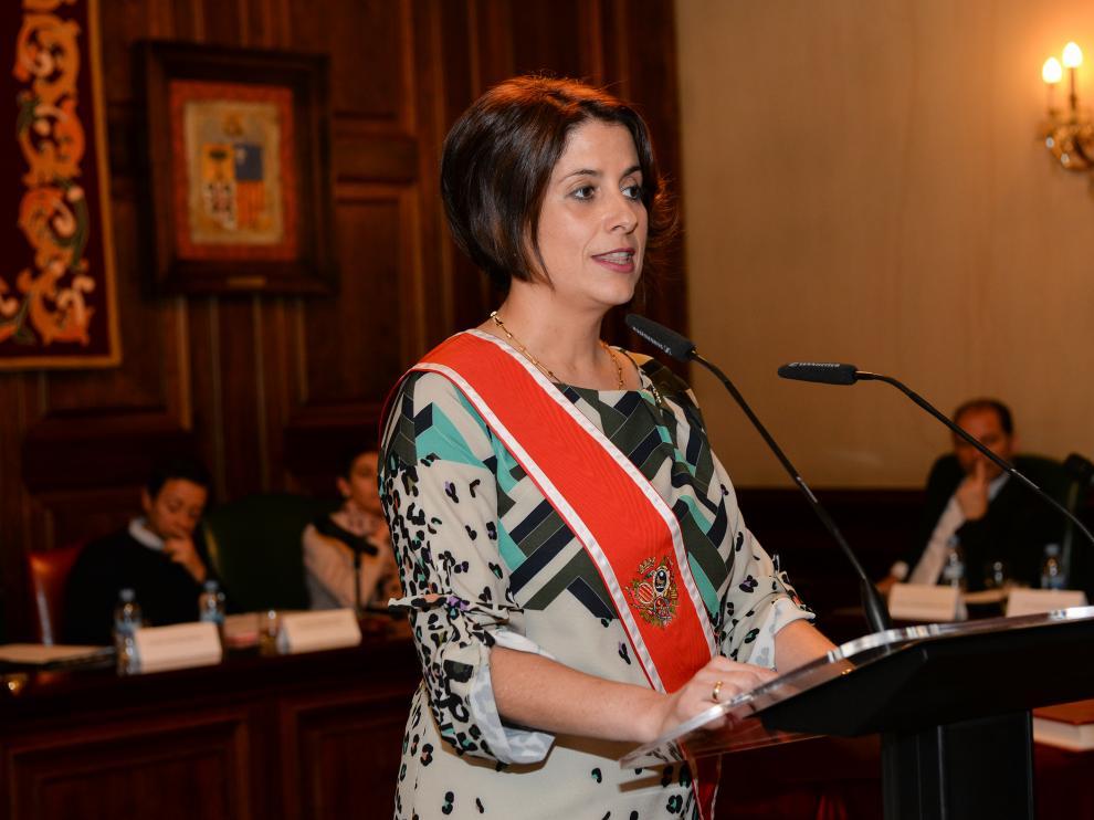 La alcaldesa de Teruel Emma Buj
