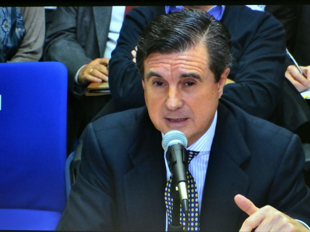 Declaración del expresidente del Gobierno balear Jaume Matas.