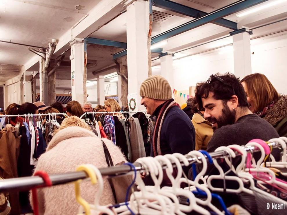El Market-Re-Place, uno de los encuentros de intercambio ya consolidados en Zaragoza.