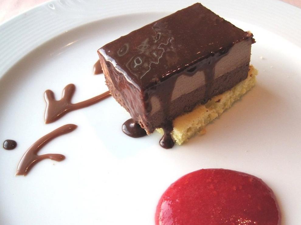 Receta de mousse de chocolate y canela