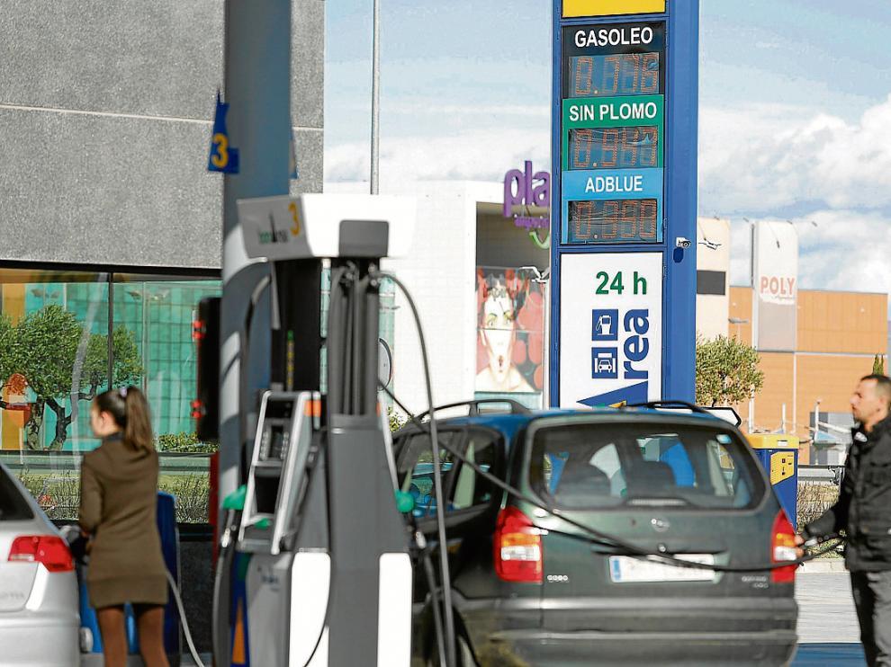 La gasolinera de Bonàrea de Zaragoza, junto a Plaza, es la sexta más barata del país.