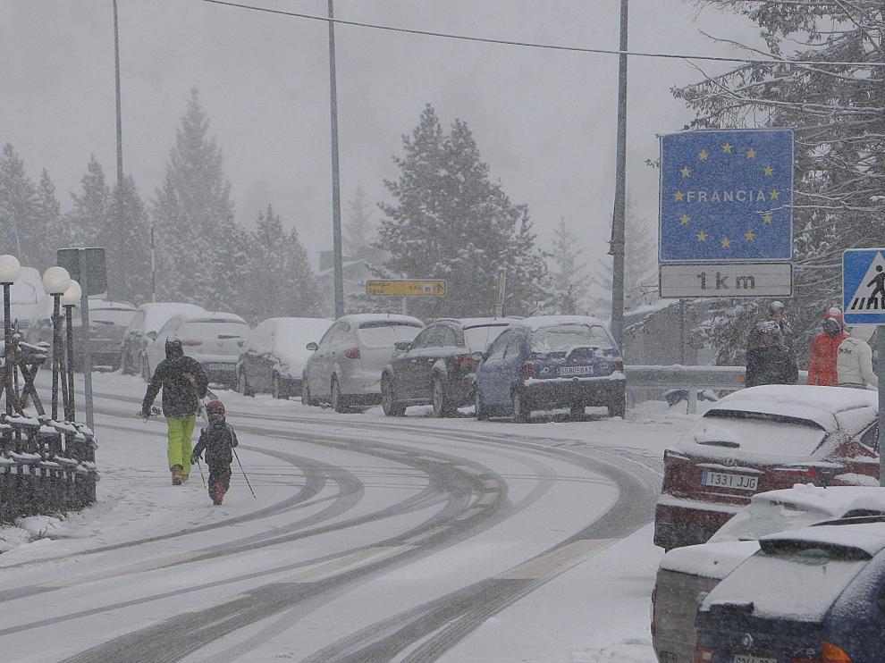 Alerta por nieve para este jueves en el Pirineo